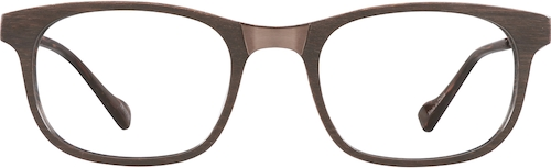 Bark Senita Rectangle Glasses