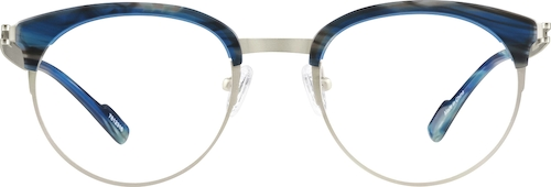 Moss Browline Glasses