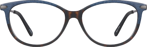 Denim Chuckwalla Cat-Eye Glasses