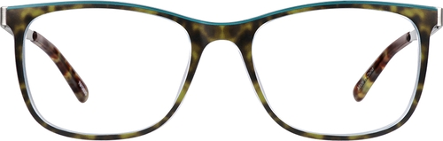 Tortoiseshell Pinyon Rectangle Glasses
