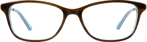 Brown Cat-Eye Glasses