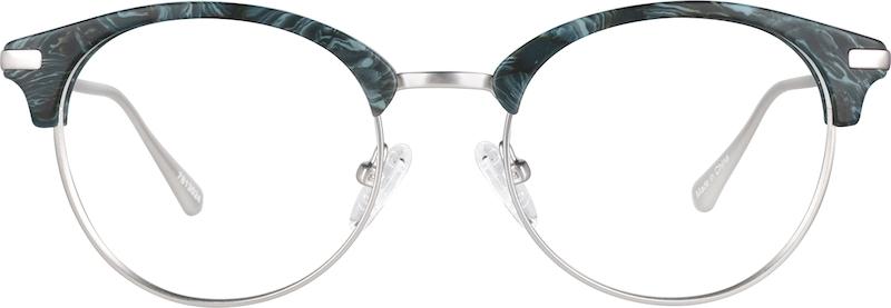 2b7775b0d9a Green Agave Browline Glasses  7813024