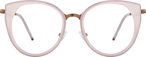 Blush Cat-Eye Glasses