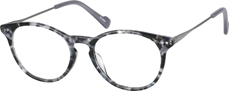 ba47c28ae94 Round Glasses 7815831. Previous. sku-7815831 eyeglasses angle view ...