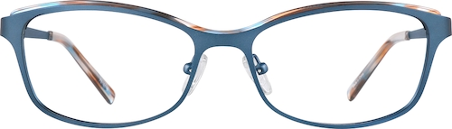 Slate Rectangle Glasses