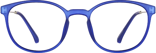 Blue Round Glasses