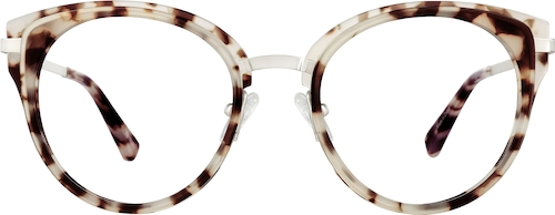 Ivory Tortoiseshell Cat-Eye Glasses