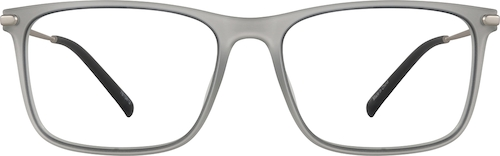 Smoke Rectangle Glasses