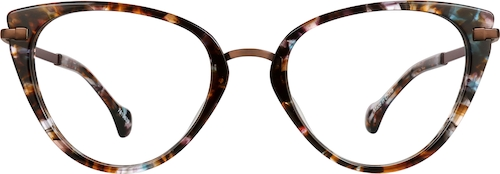 Dark Tortoiseshell Cat-Eye Glasses