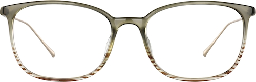 Shale Rectangle Glasses
