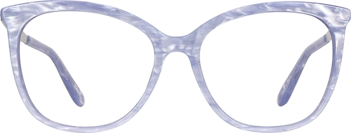 Lilac Cat-Eye Glasses