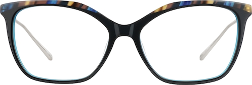 Midnight Cat-Eye Glasses