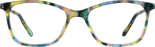 Galaxy Rectangle Glasses