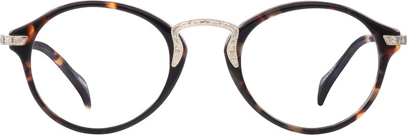 dbdb1983a8 Tortoiseshell Round Glasses  782225