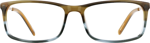 Earth Rectangle Glasses