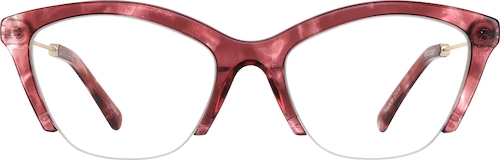 Rubellite Cat-Eye Glasses