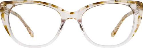 Clear Oval Glasses