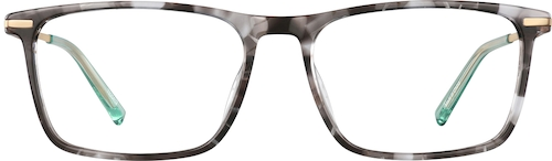 Marble Rectangle Glasses