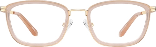 Brown Women's Rectangle Glasses
