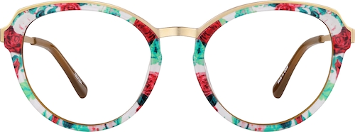 Rose Garden Cat-Eye Glasses