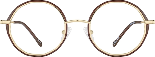Brown Round Glasses