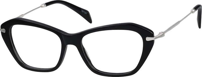ca2505f88ff Black Cat-Eye Glasses  787321