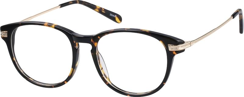 adc0b61acc92 Tortoiseshell Round Glasses  788925