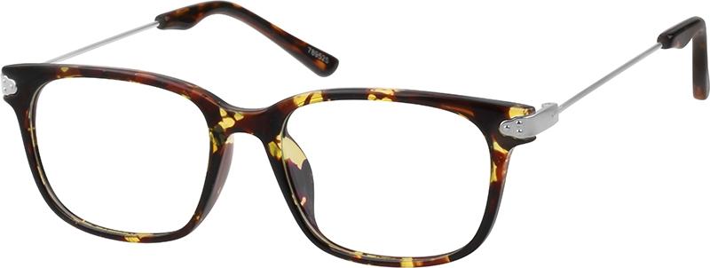 ad75bab095b Tortoiseshell Rectangle Glasses  789525