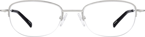 Silver Oval Glasses
