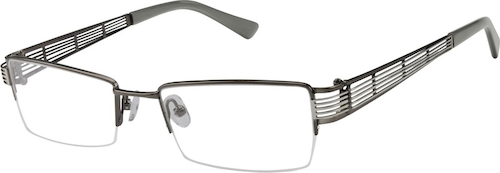 976312 Stainless Steel Half Rim Frame (Same Appearance as Frame #4763)