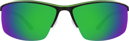 Black Non-Prescription Sport Sunglasses