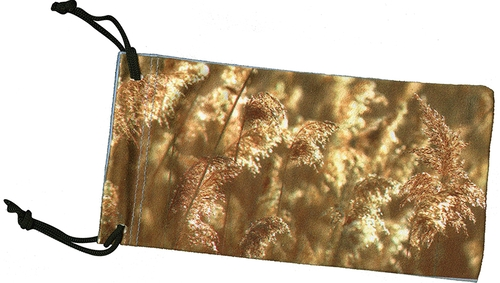 Pattern Soft Eyeglass Case